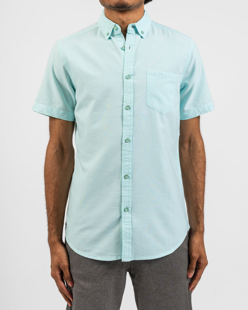 Mint Organic Oxford Shirt