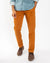 Pumpkin Stretch Sateen Slim-Fit Chino