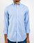 Blue Organic Cotton Oxford Shirt
