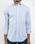 Blue Organic Cotton Poplin Shirt