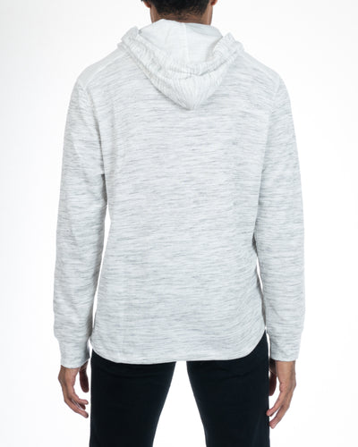 Alexander Julian Colours Men's White Pullover Hoodie Back