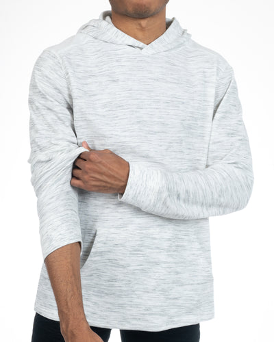 Alexander Julian Colours Men's White Pullover Hoodie Side