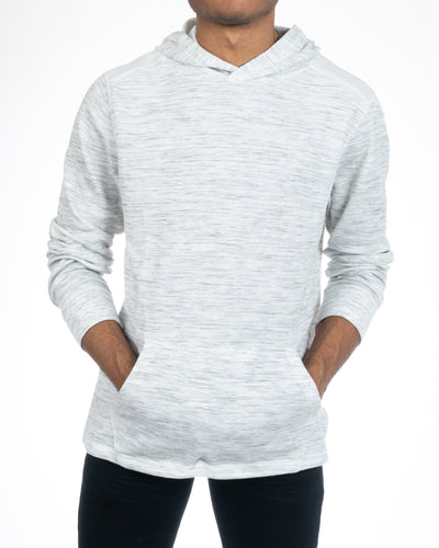 Alexander Julian Colours Men's White Pullover Hoodie Front