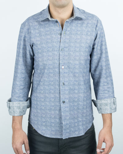 Grey/Houndstooth Reversible Shirt
