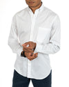 White Organic Cotton Poplin Shirt