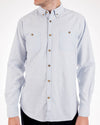 Organic Cotton Light Blue Long Sleeve Shirt