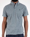 Short Sleeve Grindle Jersey Polo Ocean Blue