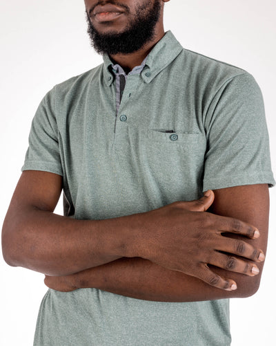 Grindle Jade Polo Shirt by Alexander Julian