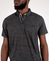 Short Sleeve Grindle Jersey Polo Black