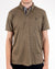 Alexander Julian Short Sleeve Grindle Jersey Polo Army Green Front