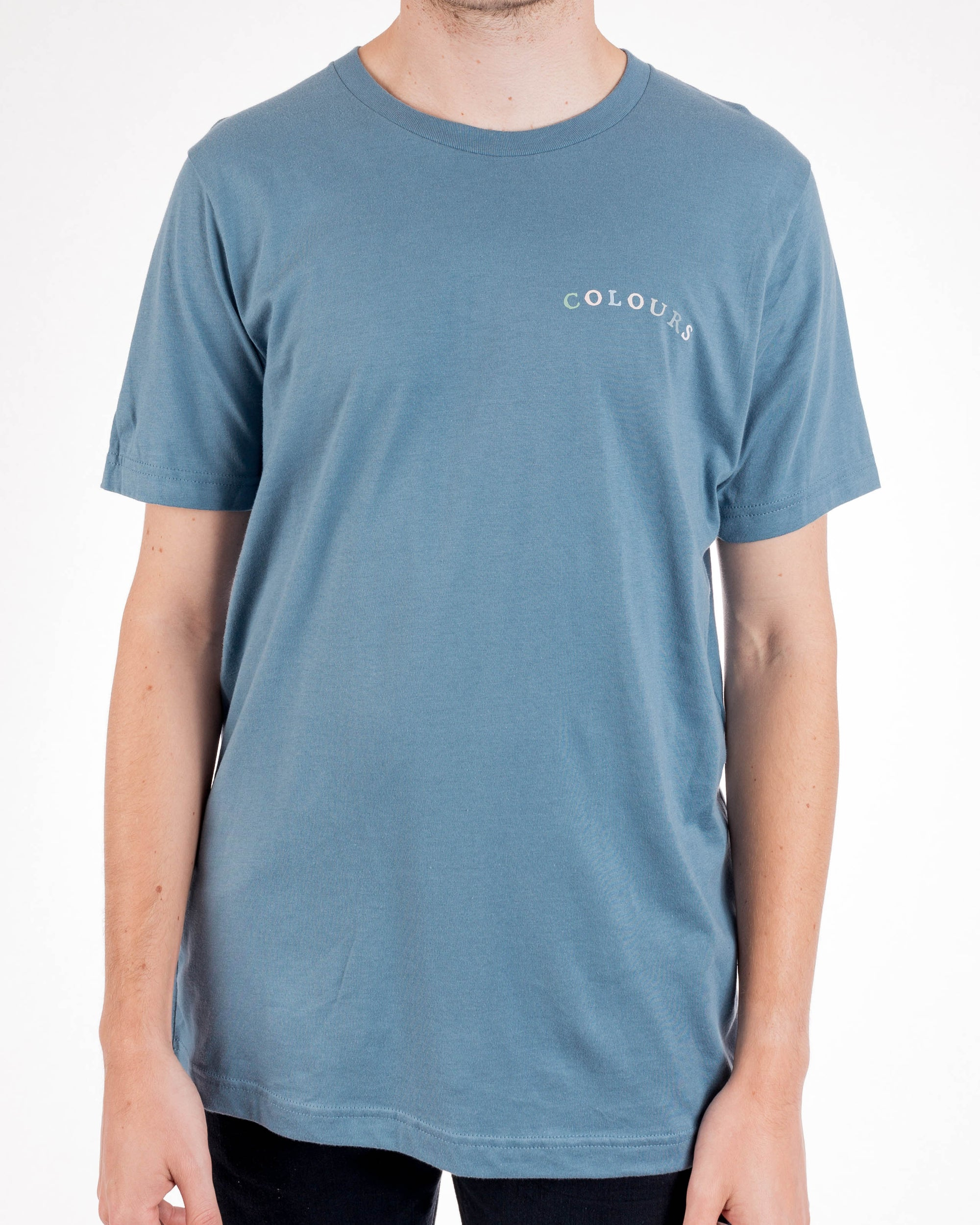 Steel Blue COLOURS T Shirt