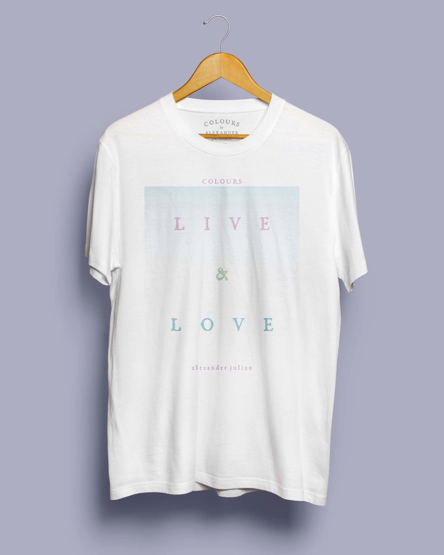 Live and Love Degrade Tee - USA