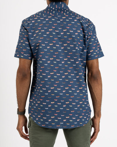 Skiffs Print Cotton Shirt