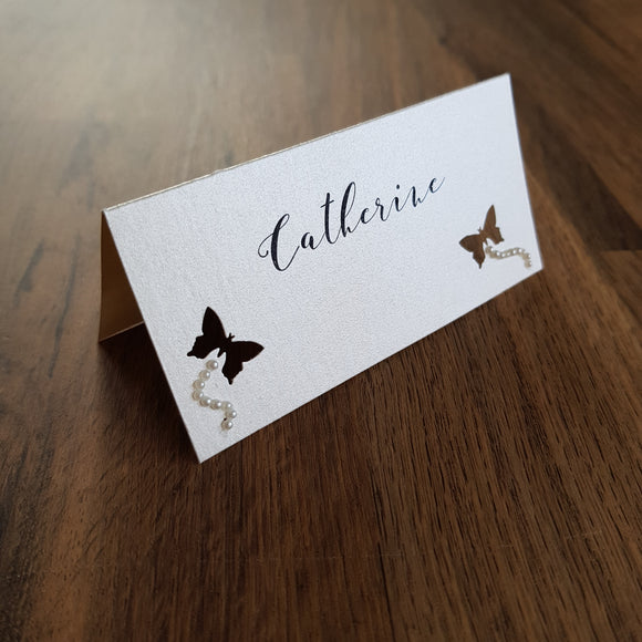 Place Card Flutterby