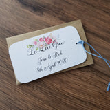 seed favours wedding
