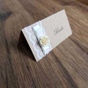 Place Card Rustic