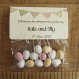 sweet bag wedding favours