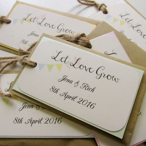 Favour - Personalised Seed bags