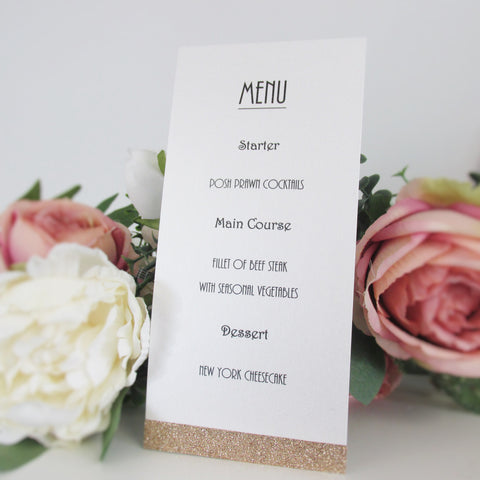Menu Card - Simply