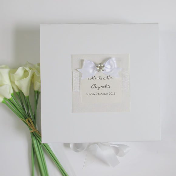 Keepsake Box - Wedding