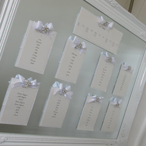 Table/Seating Planners - Mirrored