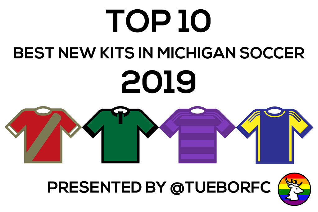 Top 10 Best New Kits in Michigan Soccer