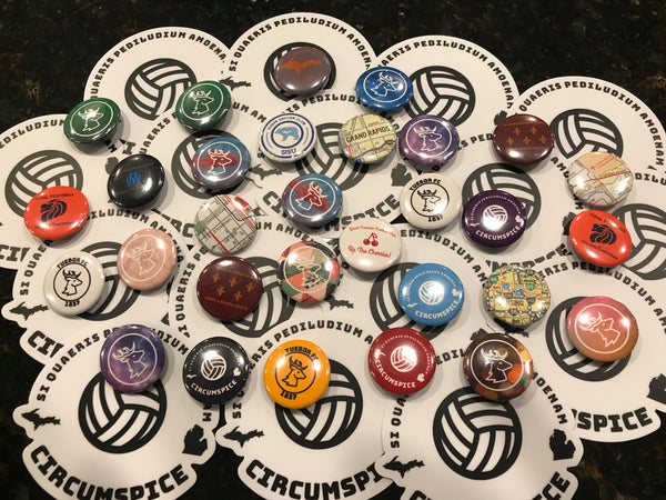 "Mystery Button Five Pack (1"" Buttons)"
