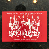 "Sons of St. George Detroit Postcard (4"" x 6"")"