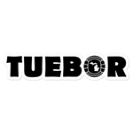 "Tuebor Football Kiss Cut Sticker (5.5"")"