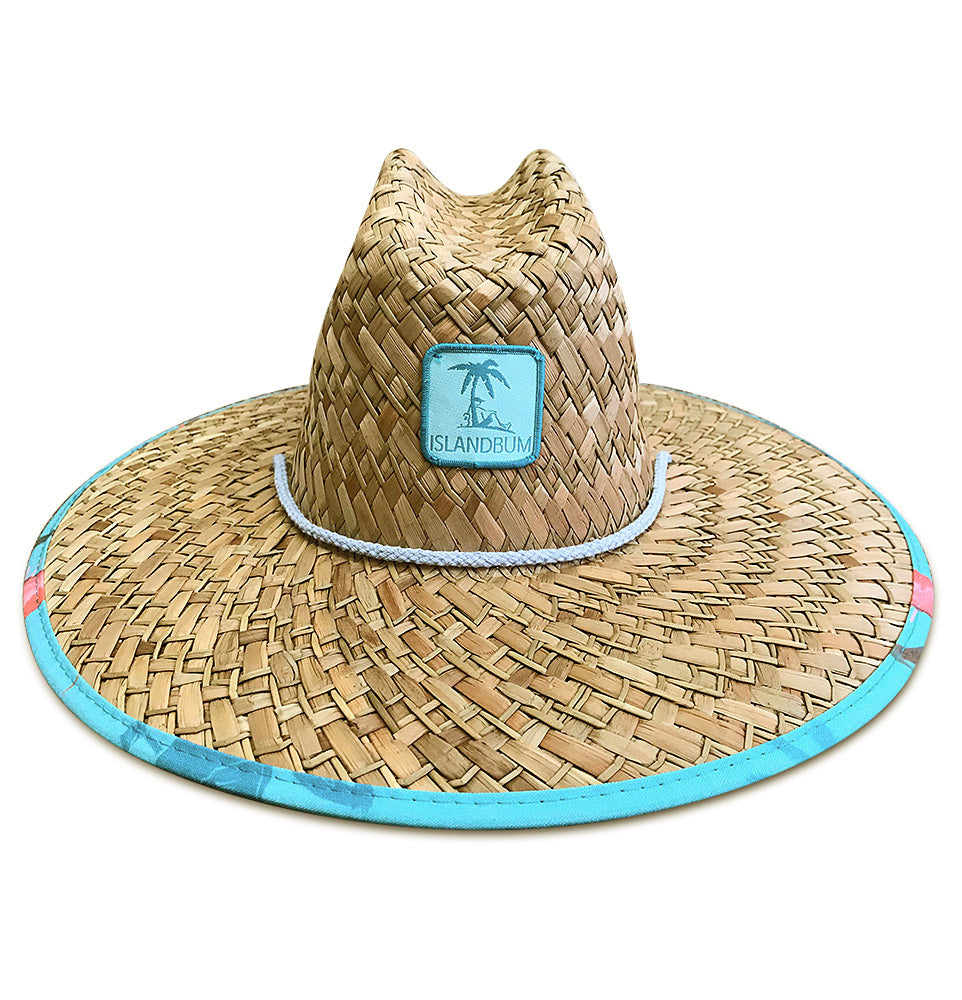Island Bum Birds and Paradise Lifeguard Straw Hat