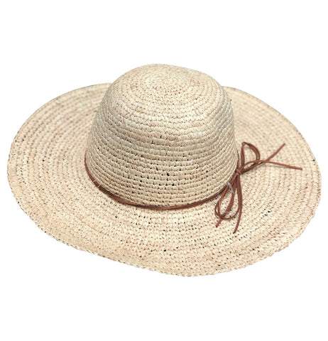 Island Bum Raffia Straw Hat Natural
