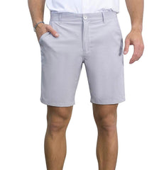 Island Bum UPF Hybrid Performance Shorts Light Grey