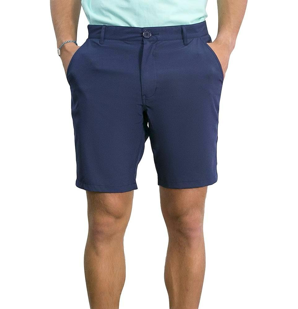 Island Bum UPF Hybrid Performance Shorts Navy Blue