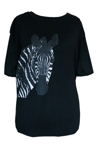 Zebra Head Printed Tee