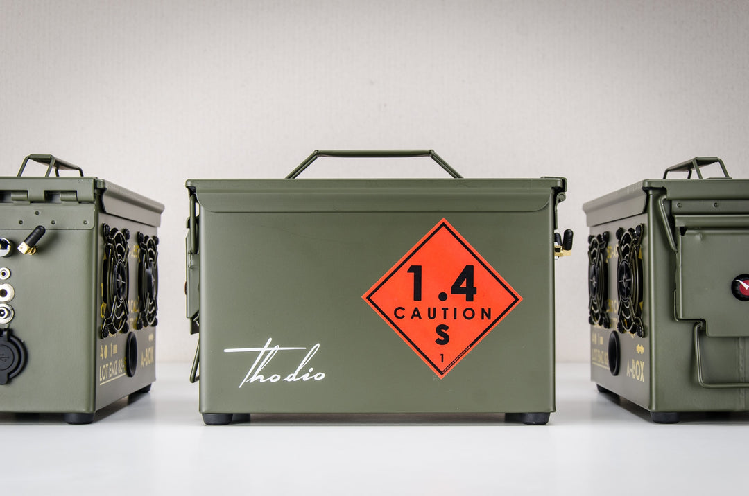 9MM A-BOX™ The Original Ammo Can Speaker 2019
