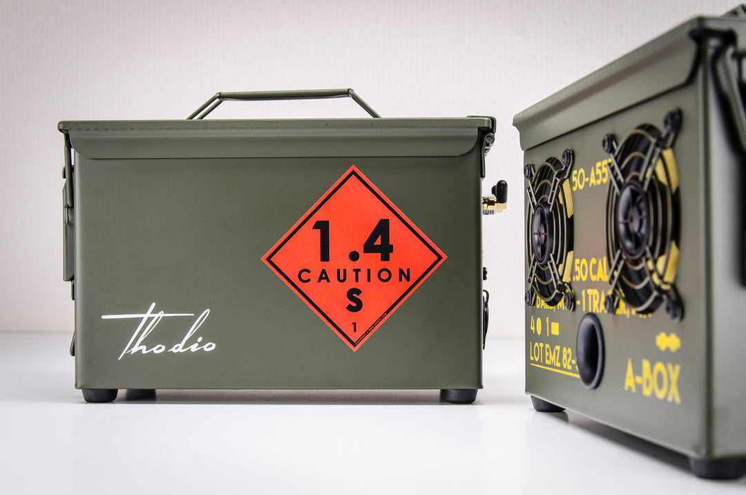 9MM A-BOX™ The Original Ammo Can Speaker 2020
