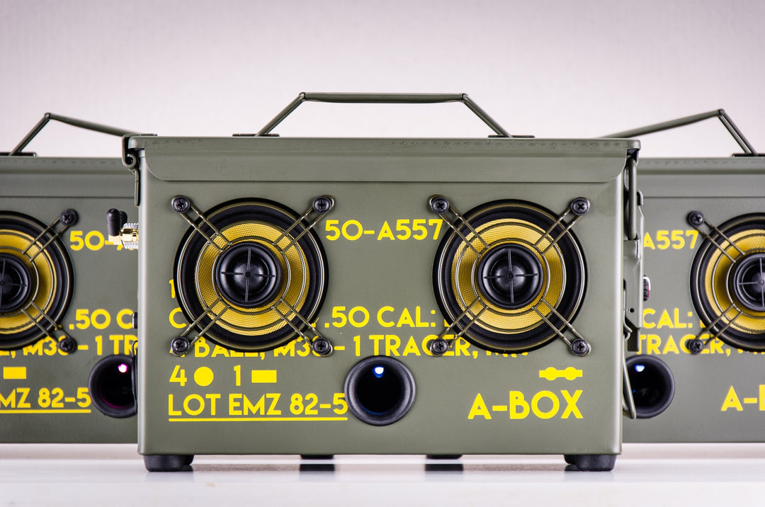 2018 ammo can speaker new review bluetooth speaker wireless outdoor portable powered wifi guitar amp camping bbq party beach best boombox