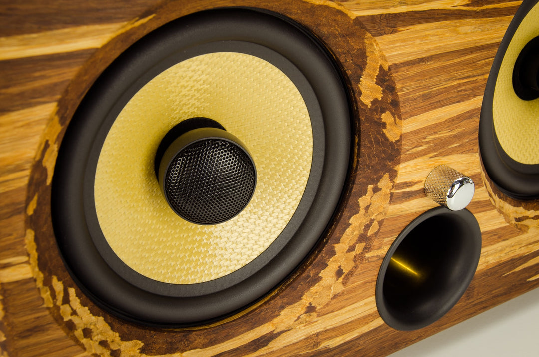Thodio iBox XC best wireless speakers review 2016 smart wifi wood bamboo hand crafted handmade custom vintage luxury kevlar tiger stripe eco tk2050 portable mancave yacht boat beach party tailgating bbq high resolution 192Khz HD