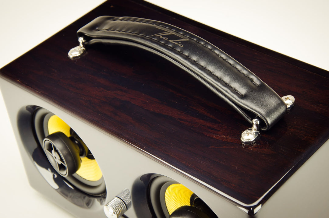iBox™ Mini HD Ebony Bamboo with High Gloss Coating