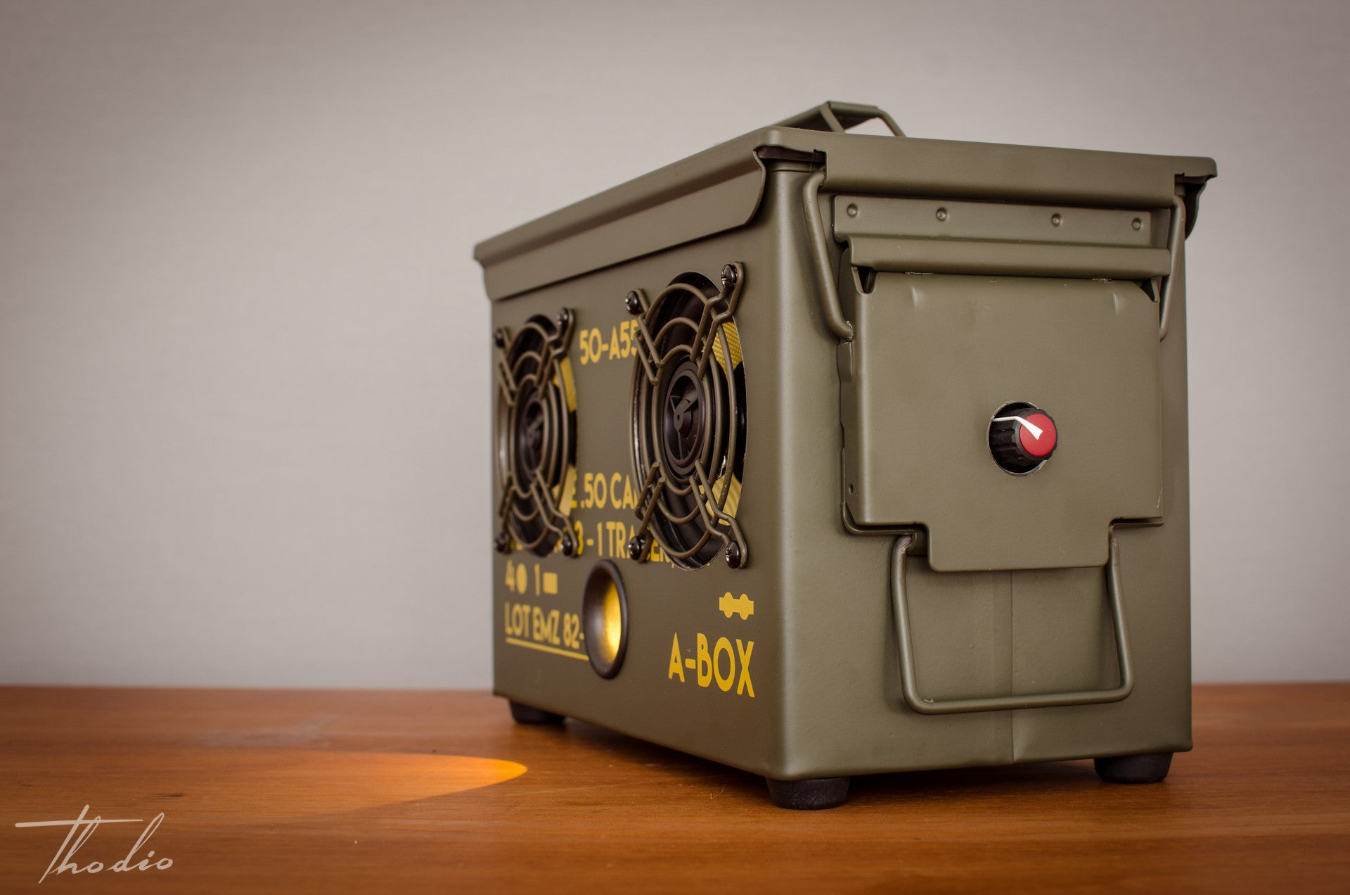 wireless ammo can ...