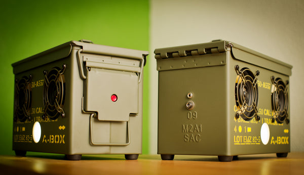 .50 CAL A-BOX™ The Original Ammo Can Speaker | Thodio