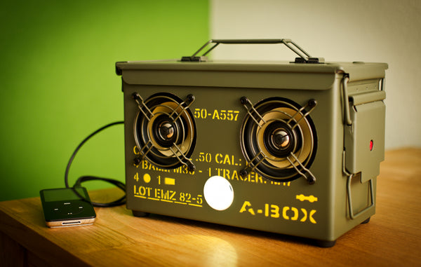 50 CAL A-BOX™ The Original Ammo Can Speaker
