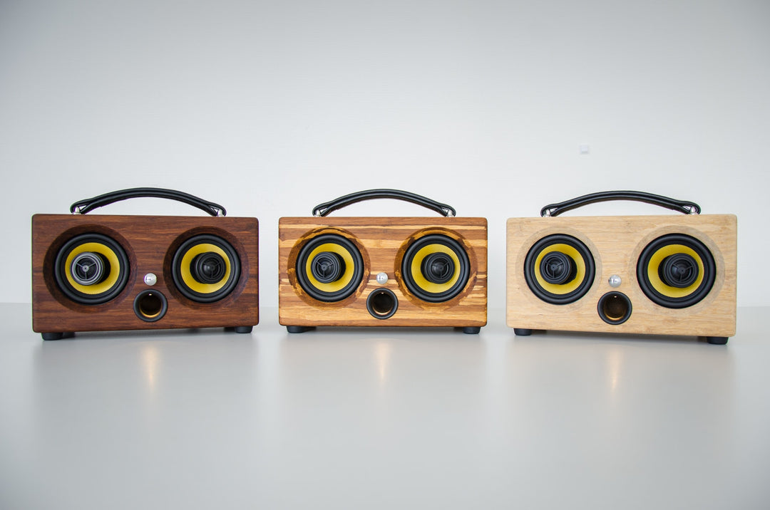 Thodio iBox™ Mini High Density Natural Bamboo