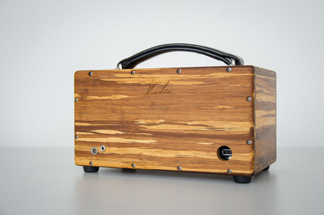 Thodio iBox™ Mini High Density Tiger Stripe Bamboo