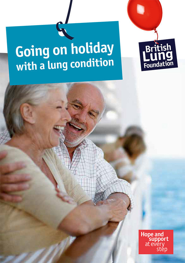 Going on holiday with a lung condition booklet