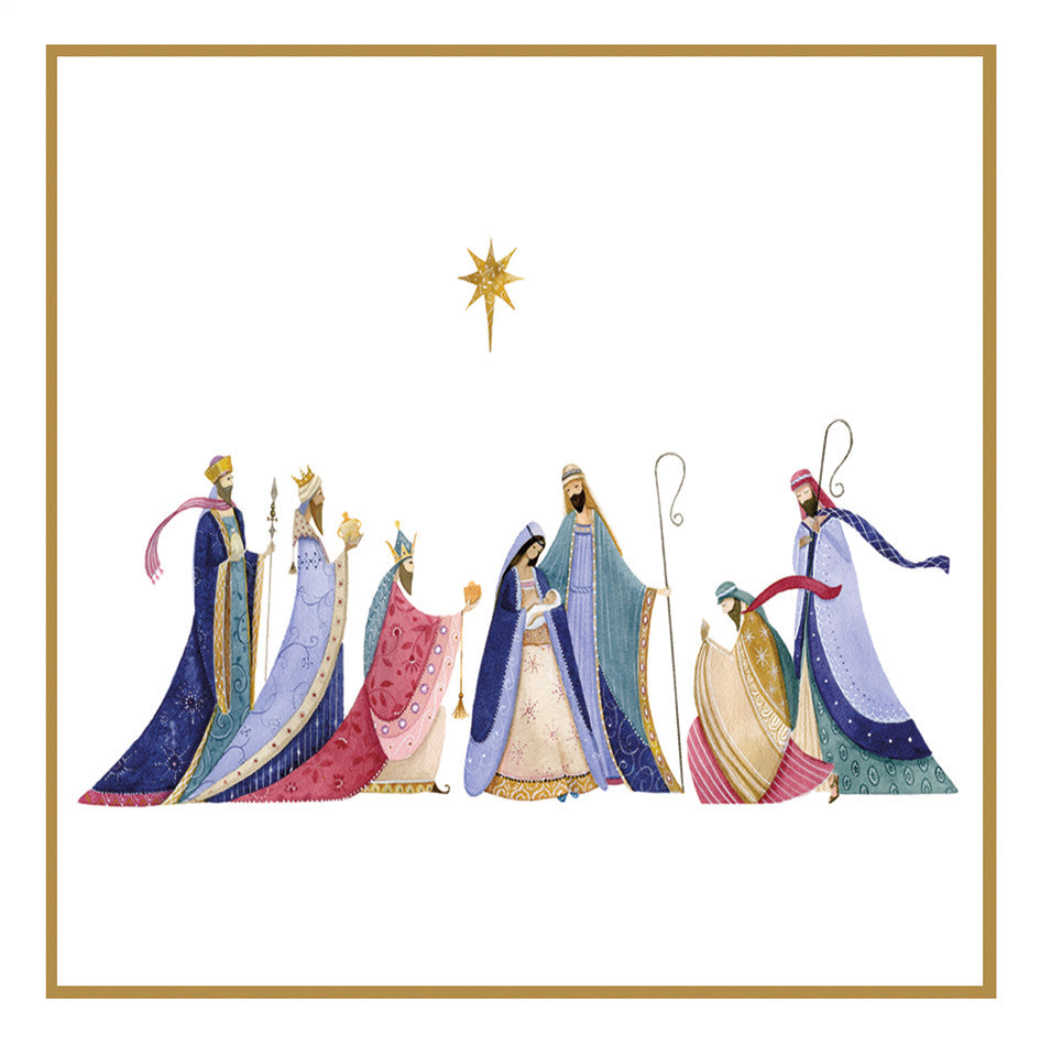 Glory to the king Christmas cards