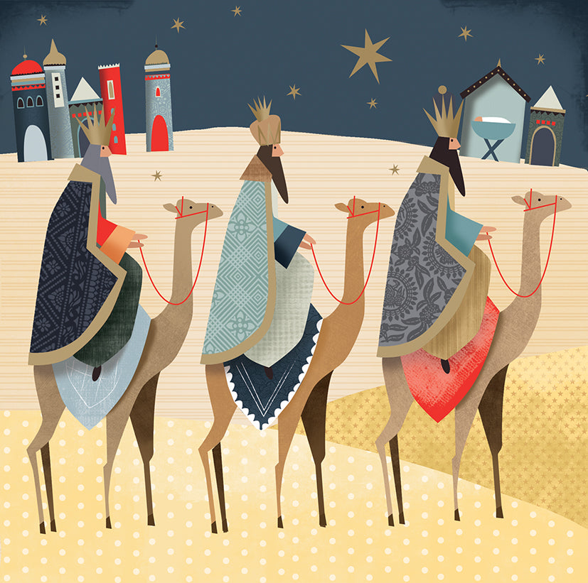 We Three Kings Christmas cards