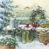 Winter garden Christmas cards