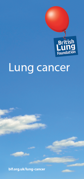 Lung cancer leaflet