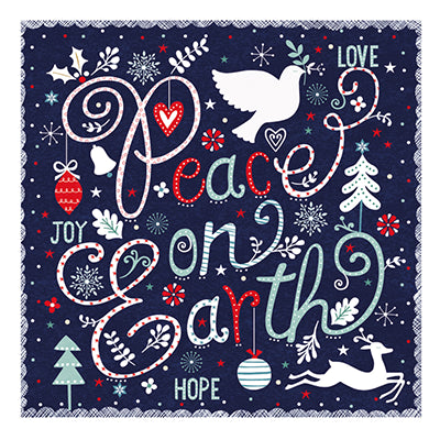 Peace on earth Christmas cards
